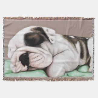 Schlafenbulldoggen-Welpe Decke