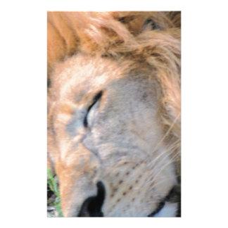 Schlafender König Briefpapier