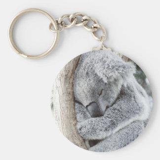 Schlafendes Koalababy Schlüsselanhänger