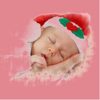 Schlafendes Sankt-Baby Freistehende Fotoskulptur