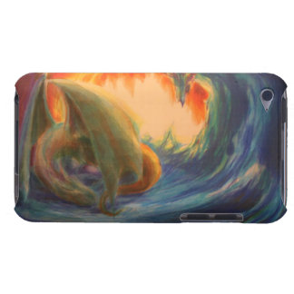 Schlafendracheipod-Touch-Abdeckung Barely There iPod Case