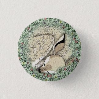 Schlafenkitz-Abzeichen Runder Button 2,5 Cm