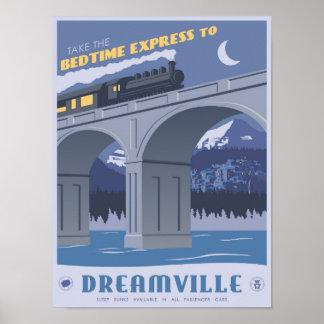 Schlafenszeit drücken zu Dreamville aus Poster