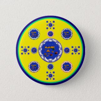 SCHLAFENZirkus [multi] Runder Button 5,7 Cm