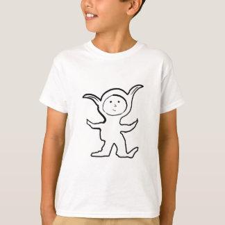 Schlaffer spitzer Ohr-KindJammies Entwurf T-Shirt