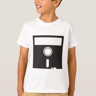 Schlaffes Disc-Disc für alten skool Computer T-Shirt