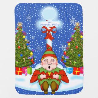 Schläfrige Elf-Baby-Decke Puckdecke