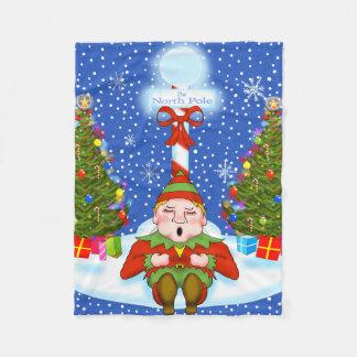 Schläfrige Elf-Fleece-Decke Fleecedecke
