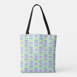 Schläfrige Häschen-Taschen-Tasche Tasche