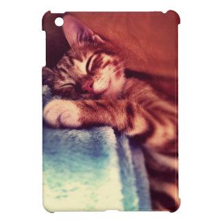 Schläfrige Katze Hülle Für iPad Mini