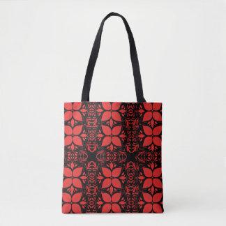 Schläfrige Poinsettia-WeihnachtsTaschen-Tasche Tasche