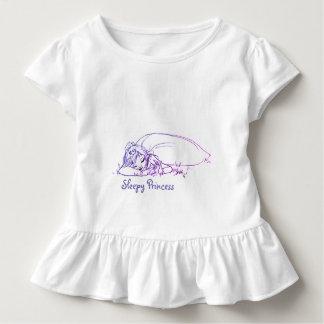 Schläfrige Prinzessin Kleinkind T-shirt