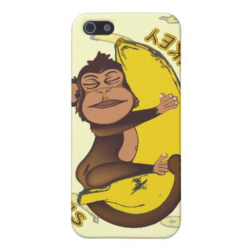 Schläfriger Affe Schutzhülle Fürs iPhone 5