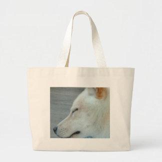 Schläfriger Hund Hatojack Jumbo Stoffbeutel