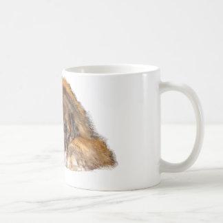 Schläfriges Leonberger Kaffeetasse