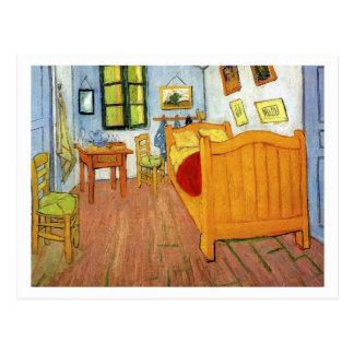 Schlafzimmer in Arles durch Vincent van Gogh Postkarte