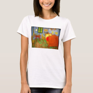 Schlafzimmer in Arles Pixelated T-Shirt