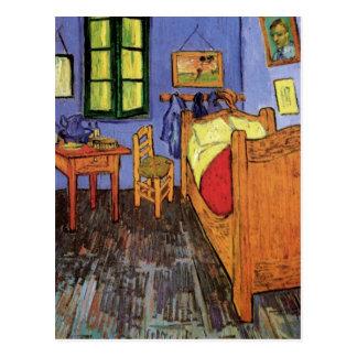 Schlafzimmer Van Gogh Vincents in Arles, schöne Postkarte