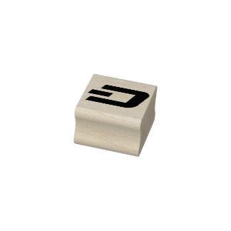 SCHLAG Briefmarke D Gummistempel