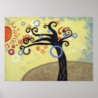 Schlag im Wind Poster