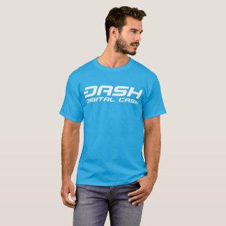 SCHLAG klassisches Aqua-Blau-T-Stück T-Shirt