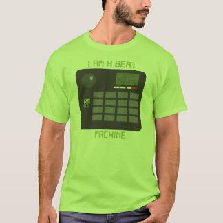 Schlag-Maschinen-T-Stück (Grün) T-Shirt
