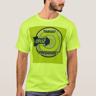 Schlagen Sie das Bullauge mit Cruz T-Shirt