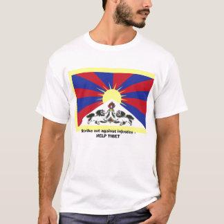 Schlagen Sie heraus gegen Ungerechtigkeit - HILFE T-Shirt