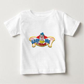 Schlagen Sie mich der Clown Baby T-shirt