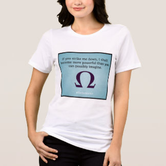 Schlagen Sie mich hinunter den T - Shirt der