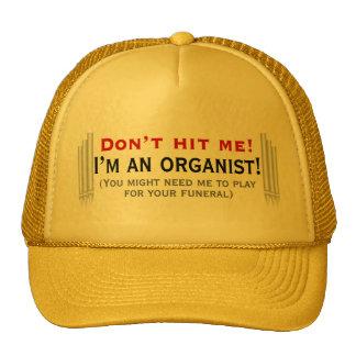 Schlagen Sie mich nicht - ich bin ein Organist Netz Caps