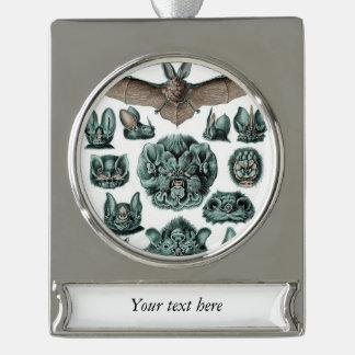 Schläger durch Ernst Haeckel Banner-Ornament Silber