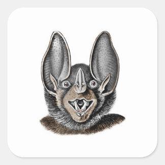 Schläger mit den großen Ohren Quadratischer Aufkleber