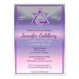 Schläger Mitzvah Einladung