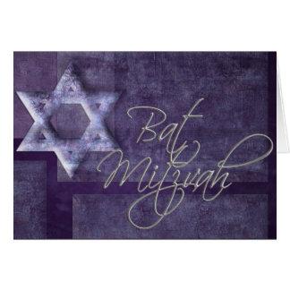 Schläger Mitzvah Einladung/Karte Grußkarte