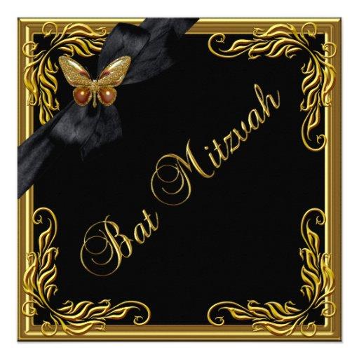 Schläger Mitzvah eleganter Individuelle Einladungen