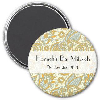 Schläger Mitzvah - Iraner Paisley Wirbel - blaues