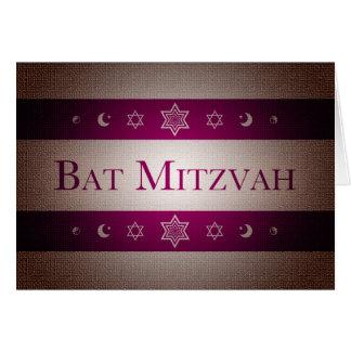 Schläger Mitzvah Karte