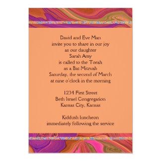 Schläger Mitzvah laden ein 12,7 X 17,8 Cm Einladungskarte