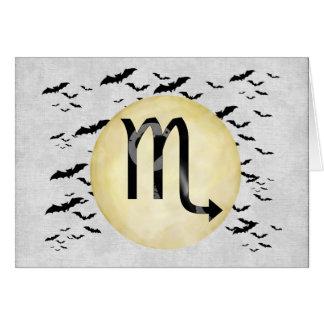 Schläger-Mond-Skorpion Karte