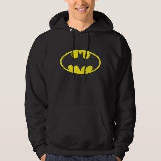Schläger-Oval-Logo Batman-Symbol-| Hoodie