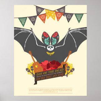 """Schläger-Plakat """"Dia de Los Muertos"""" Poster"""