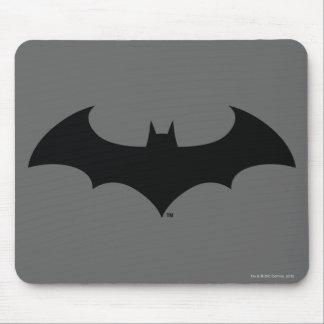 Schläger-Silhouette-Logo des Batman-Symbol-| Mousepads