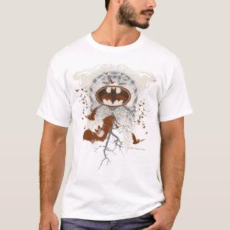 Schläger-Symbol Ribcage Vintage Collage T-Shirt