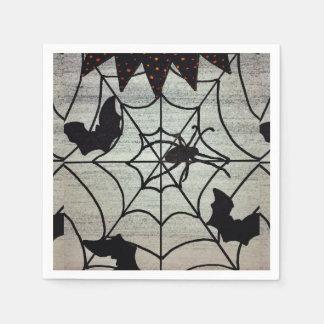 Schläger-und Spinnen-Servietten Papierserviette
