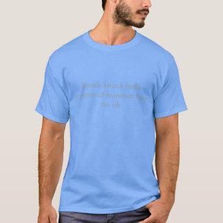 Schlagschlag-Witz-Shirt T-Shirt