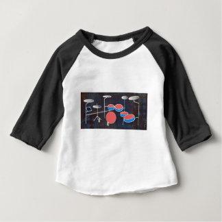 Schlagzeug-Farbe Baby T-shirt