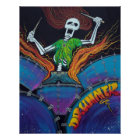 Schlagzeuger des toten Plakats Poster