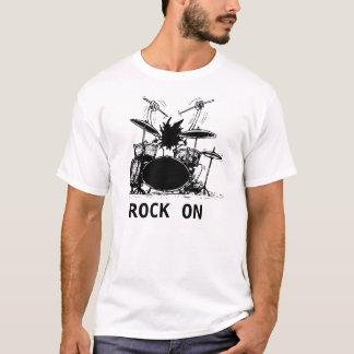 Schlagzeuger, FELSEN AN T-Shirt