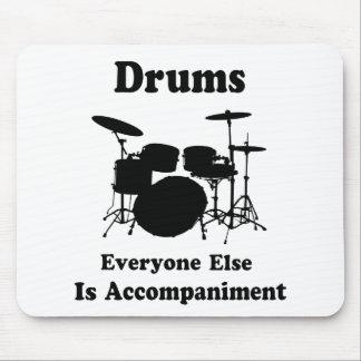 Schlagzeuger-Geschenk Mauspads